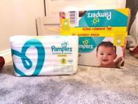 120 size 2 pampers new