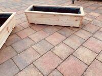 Handmade Wooden Flower/Plant/Vegetable Window Box Planter