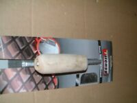 For Sale 2mm Notched Trowel, used once. As new still with rapping needed for one job
