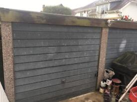 Pre fabricated concrete garage approx 17ft square