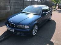 Bmw 330ci auto clean though out 1 years mot (**part ex welcome **)