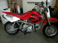 Honda crf50 replica