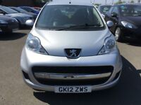2012 Peugeot 107 1.0 , mot - May 2019 , only 34,000 miles , service history ,...