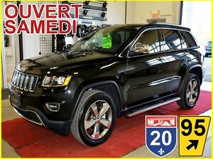 2016 Jeep Grand Cherokee LIMITED * AWD * HITCH * GPS * ALPINE *