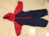 Togz Warm and Dry suit 18-24 months