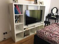 White IKEA Lappland TV Unit