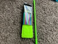 Green BNWT microfibre floor mop