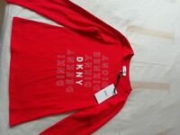 DKNY BRAND NEW WITH TAGS LONG SLEEVE TOP