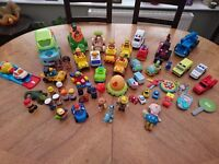 Large selection of toys including happy land