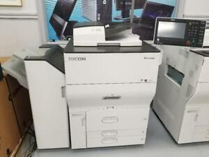60 PPM CORPORATE LEVEL RICOH 5100S AT A PROMO PRICE OF $4500. COLOR MULTIFUNCTIONAL LASER PRINTER, SCANNER, COPIER.
