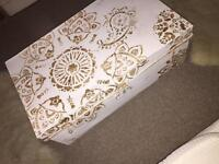 Very Boho / Moroccan style trunk / coffee table / storage