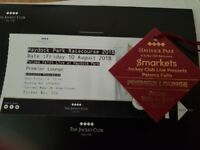 Haydock park ticket, paloma faith live. Premier lounge, august 10th