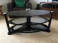 TV Stand - oval glass free buyer collect