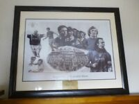 Glasgow Rangers framed picture