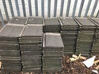 210 Redland 90 flat grey roof tiles