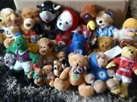 Joblot Bundle of Football Mascot Plush Toys Delivery Available