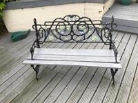 Heavy duty cast iron bench for sale