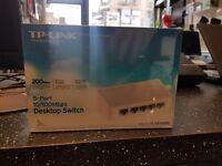 Brand New TP-Link 5 Port 10/100Mbps Desktop Switch
