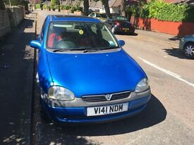 VAUXHALL CORSA , LOW MILEAGE , IDEAL FIRST CAR