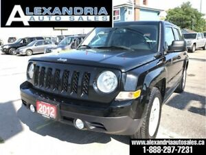 2012 Jeep Patriot Sport/sunroof/79km/safety included
