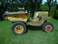 1 Ton Dumper.Single Cylinder Lister Diesel Engine.Engine .