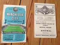 Arsenal Programmes 1950's - 2003