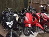 Running projects moped scooter Vespa Honda Piaggio Yamaha Gilera Peugeot typhoon ped pcx