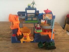 Toy story imaginext landfill