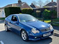2006 Mercedes C220 CDI COUPE BLUE AUTOMATIC