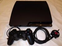Sony PS3 Slim Console Bundle 250GB Charcoal Black (Singstar / Exercise / Party Bundle) Pickup Only