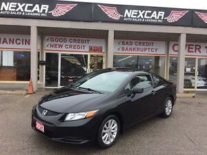 2012 Honda Civic EX-L COUPE* AUTO* LEATHER NAVI SUNROOF 97K