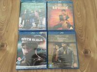 Blu Ray movies bundle - new