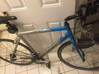 "Giant ocr racing bike ""fairly good condition ""clip in pedals shoes included"