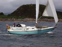 ELIZABETHAN 31 SAILING CRUISER LAUNCHED 1980 £8950 massive price reduction