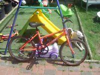 classic 1980/s kids bike