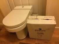 Brand new toilet WC with soft close cover
