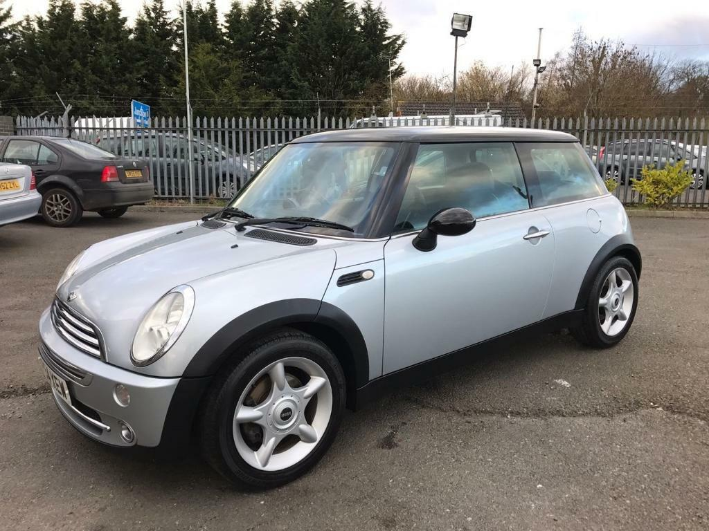 mini hatch cooper 1 6 3 door hatchback silver 2005 in maidstone kent gumtree. Black Bedroom Furniture Sets. Home Design Ideas