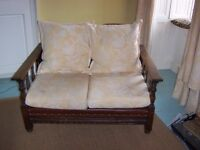 Antique 3 piece suite. All leather and internal upholstery recently replaced.