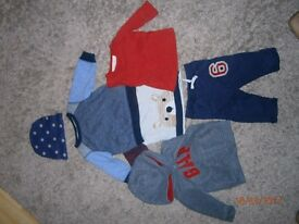 baby boys outfits bundle 6/9 months