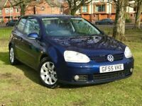 2006 55 VW GOLF 2.0 GT TDI 140 BHP ** LOW MILES ** 3 MONTHS WARRANTY