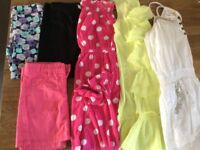 Bundle Of Girls Clothes Age 8 Years