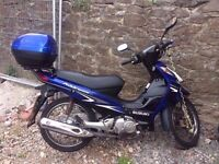 Suzuki Address 125 - LOW MILEAGE