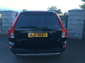 Volvo XC90 2.4 S D5AWD 2007 Black Excellent Condition 7 seats