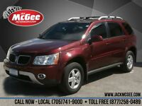 2008 Pontiac Torrent GT - V6, Leather, Sunroof, Pwr Seat