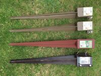 Fence posts £5 each - NEW - different sizes