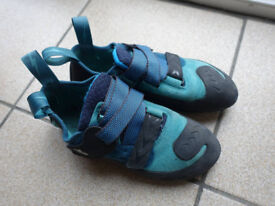 used climbing shoes Evolv Kira size 7.5 good condition