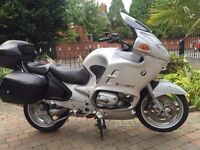 BMW R1150 RT VERY CLEAN BIKE WELL LOOKED AFTER FULL TOURING LUGGAGE LONG MOT ETC MUST BE SEEN £2495