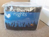 Brand new king duvet cover fitted sheet& pillowcase set