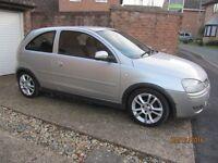 Silver 2004 Vauxhall Corsa 1.2Design 3 Door; Recent replacement Engine