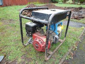 Honda GX200 6.5 110V generator. Good condition with large fuel tank.